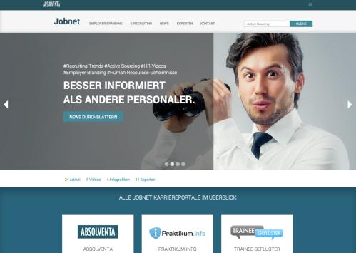 Screenshot Jobnet
