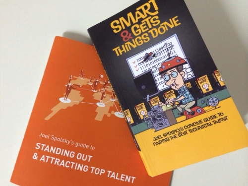 Buch von Joel Spolsky: Smart and gets things done