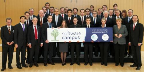 Auftakt Software Campus IT Gipfel 2011