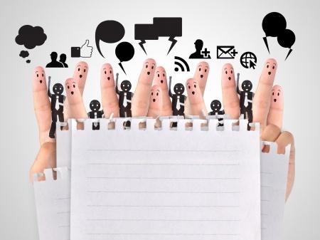 Bewerber und Recruiter in Kontakt