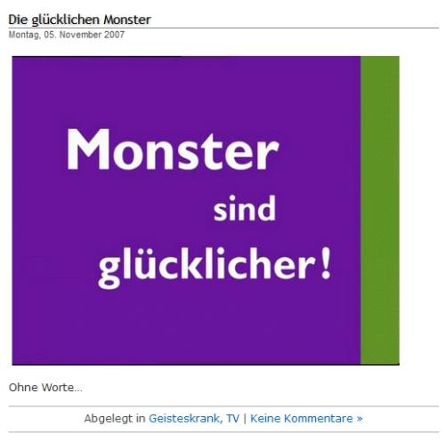 Monster Jobbörse Werbung