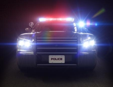 Polizei bei Markenverstößen
