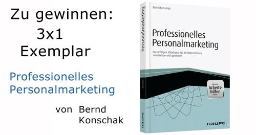 Fachbuch Personalmarketing zu gewinnen!
