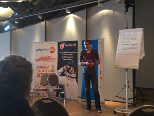 HR Blogger Personalmarketing2null präsentiert auf dem HRBC