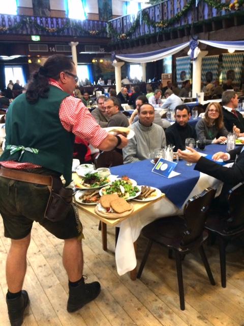 Lunch CryptoRallye Teilnehmer
