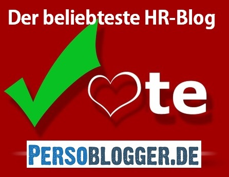 Wer ist der beliebteste HR-Blog Deutschlands? Persoblogger.de!