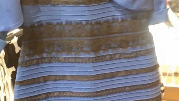 #dressgate blau schwarz silber - wer weiß das schon genau