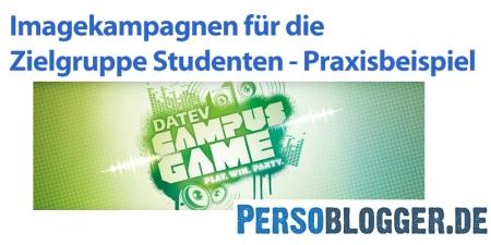 Studentenkampagne DATEV 2015
